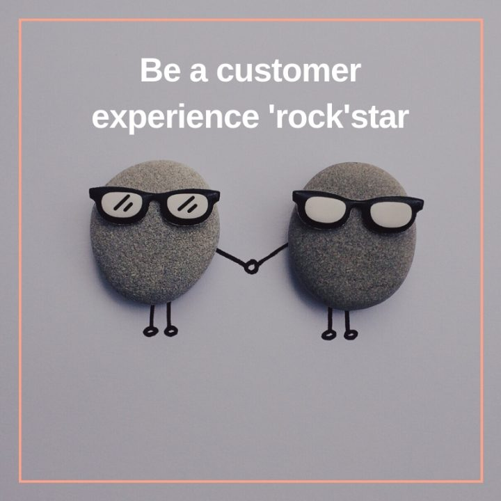 Be a Customer Experience 'rock'star